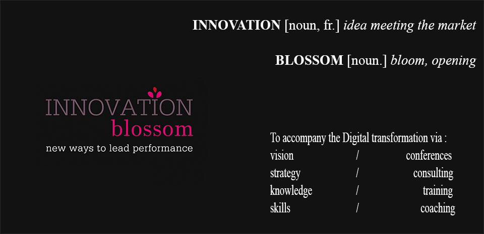 sylvie bremond innovation blossom banner