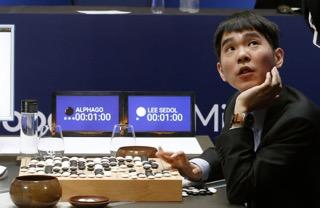 intelligence artificielle go sud coreen